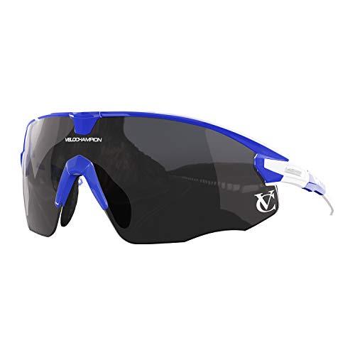 VeloChampion - Gafas de sol para ciclismo y deportes múltiples (100% protección...