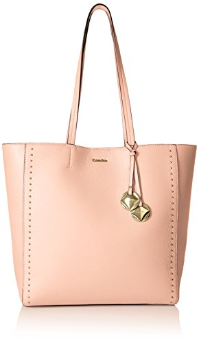 Calvin Klein Avery Pebble N/S Tote Tote Bag, INTIMATE, One Size