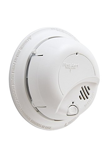 First Alert BRK 9120B-12 Hardwired Smoke Alarm with Backup Battery, 12-Pack