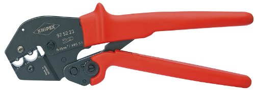 KNIPEX Tools - Crimping Pliers, 2 Position Contact (975223)