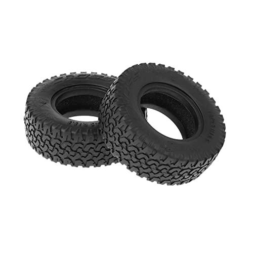 Sharplace 2 Piezas neumáticos de Rueda Ancha Juego de neumáticos para Tamiya 1/14 báscula de orugas Remolque de Arrastre camión RC Coche Hobby DIY Piezas de - Un