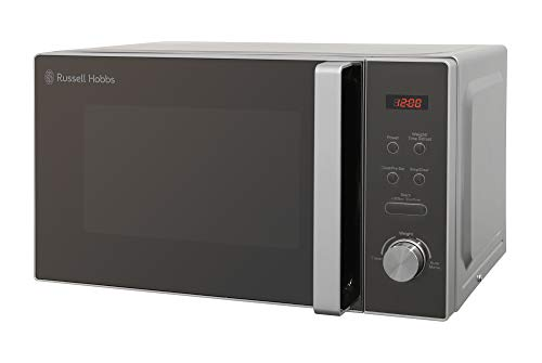 Russell Hobbs RHM2076S Compact Microwave, 800 W, 20 liters, Silver