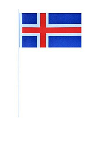 Flaggenfritze® Papierfahnen Island