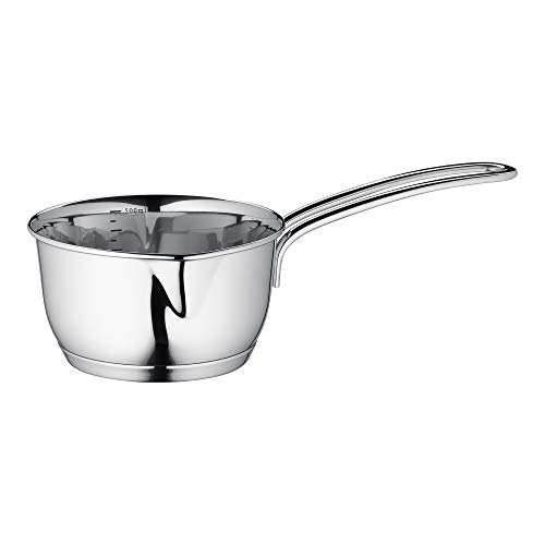 Küchenprofi Stainless Steel Saucepan with Clad Bottom, 16-Ounce