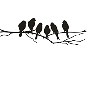 wall stickers birds on a branch