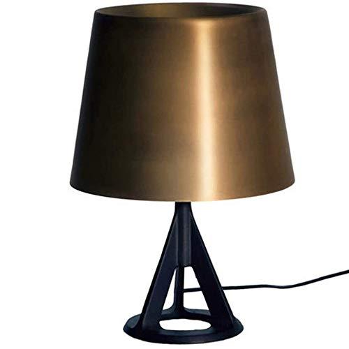 Qxinjinxtd-Lampen für Schlafzimmer Eisen Tripod Tischlampe, British Industrial Design Schreibtischlampe, große Tischlampe Büro-Schreibtisch, Tischleuchte Nachtlichter, Lichtaugenpflege Beleuchtung zum
