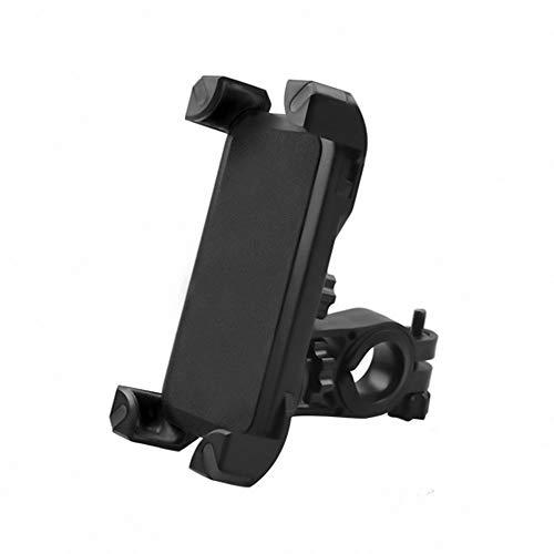 FYLYHWY Universal Ajustable Anti Shake 360 Rotación Smartphone Soporte Soporte de Bicicleta Soporte para Bicicletas Soporte para teléfono móvil (Color : Black)