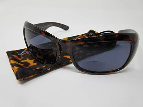 LINDAUER Getönte Damen Lesebrille/Sonnenbrille BIFOKAL +1,5 UV400 CAT.3