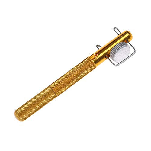 FGJFJ Angelhaken aus Aluminiumlegierung Angelschnur Werkzeug Manuelles Knotenbindungswerkzeug Fischwerkzeug Hakenbinder Gerät Strangknoten