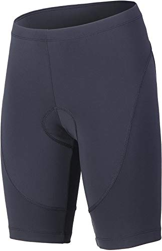 beroy Women's Triathlon Shorts with 3D Gel Padded, Cycling and Spinning Pants - Black - XL