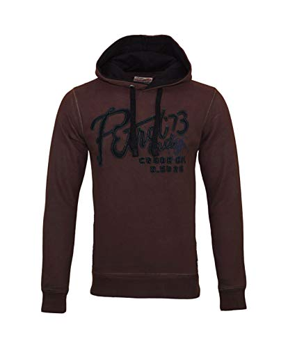 Petrol Industries Sweat Sweater Hooded Black Bean (XXL)