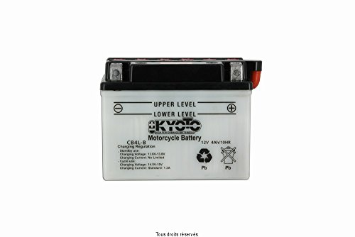 Batterie Moto KYOTO Yb4l-b L 121mm W 71mm H 93mm 12v 4ah Acide 0,28l