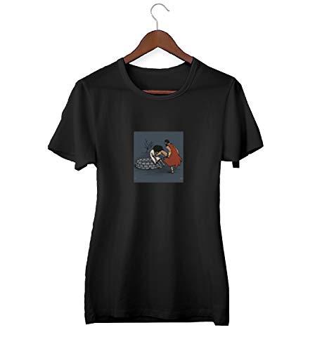 300 Chuck Norris Sparta Kick_KK023645 T-shirt T-shirt voor mannen cadeau voor hem cadeau verjaardag Kerstmis