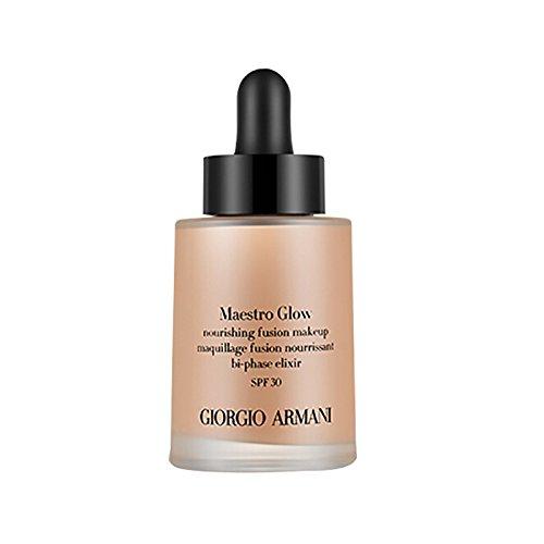 Giorgio Armani Maestro Glow Nourishing Fusion Foundation SPF30 Nr. 02 femme/women, 30 ml