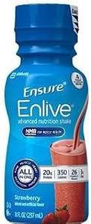 ensure vanilla nutrition facts