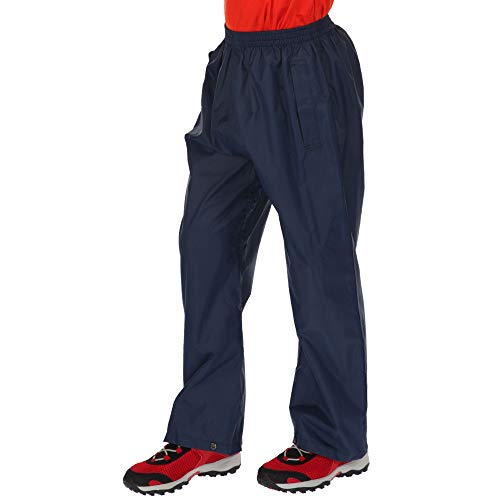 Regatta Unisex-Adult Pack It Over Trousers-Midnight, Size 11-12