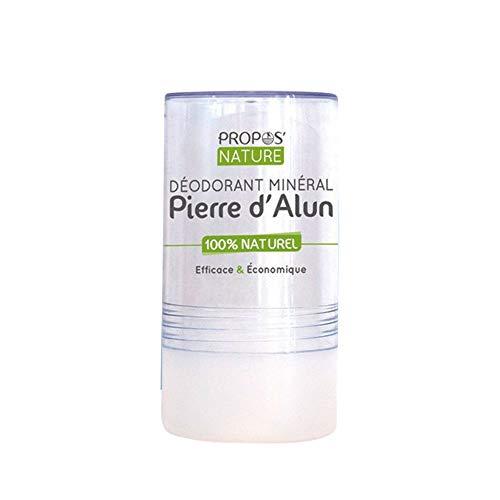 PROPOS'NATURE DEOSTICKALUN Déodorant Minéral Pierre d'Alun Bio 120 g