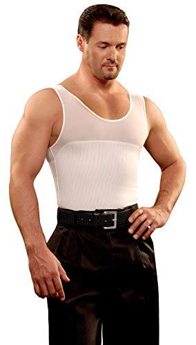 KISHA Camiseta Faja Hombre Blanco