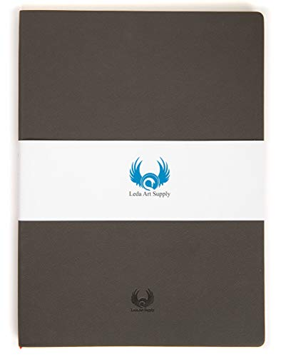 Leda art supply a4 x large sketchbook for artists (8. 25 x 11. 5 inches)...