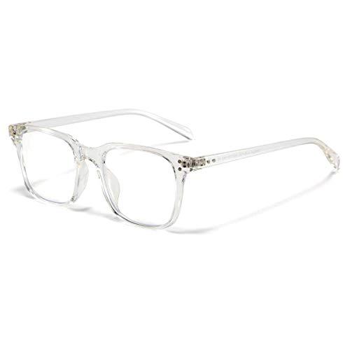 Blaulichtfilter Brille Anti Blaulicht Brillen Ohne Sehstärke Computerbrille Pc Gaming Glasses Damen Herren Transparent
