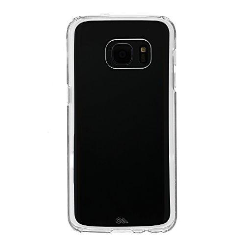 Case-Mate Naked Tough Case für Samsung Galaxy S7 in transparent - von Samsung zertifizierte Schutzhülle [Extrem robust   Stoßabsorbierend   Transparent   Hybrid   Tasten in Metall Optik] - CM033940