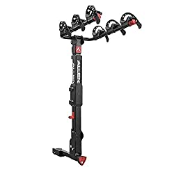 Allen Sports Premier Locking Quick Release 3-Bike Carrier for 2 in. and 1 1/4 in. Hitch, Model QR535 , Black