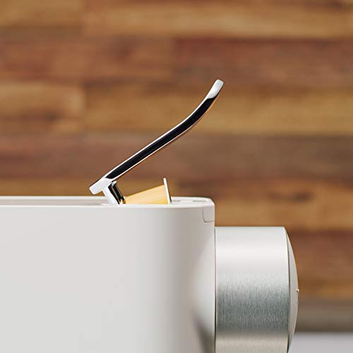 De'Longhi NESPRESSO Gran Lattissima EN 650.W Cafetera Monodosis de Cápsulas (con Depósito de Leche Compacto, 19 Bares, 9 Recetas, Apagado Automático), Color Blanco
