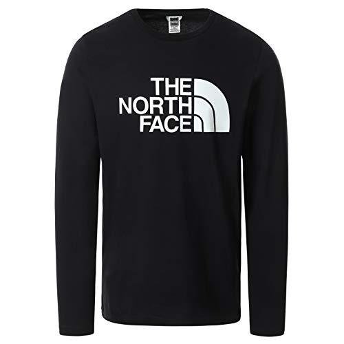The North Face – Maglia da Uomo Half Dome – Manica Lunga - Black, M