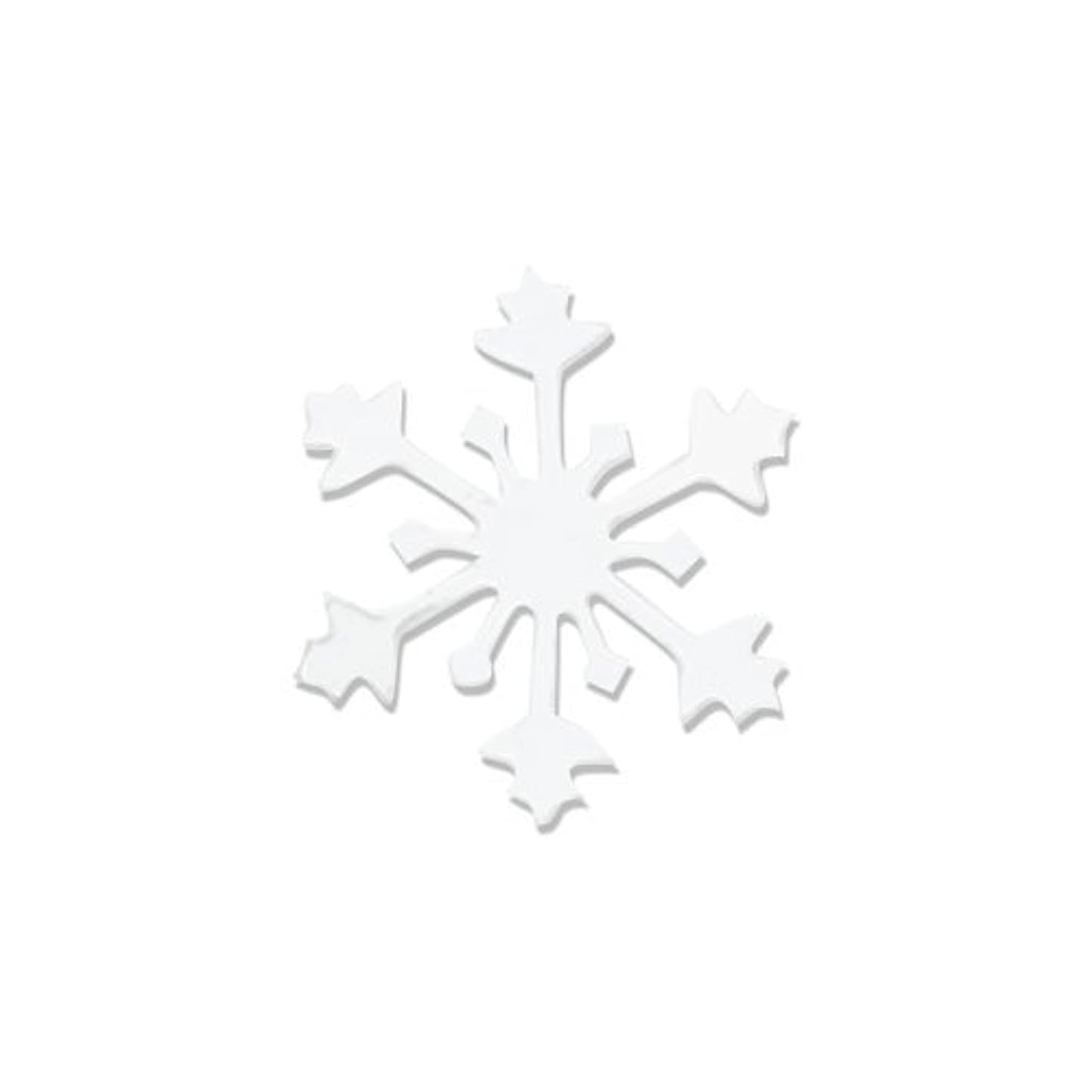 リトルプリティー ネイルアートパーツ スノークリスタル SS ホワイト 15個
