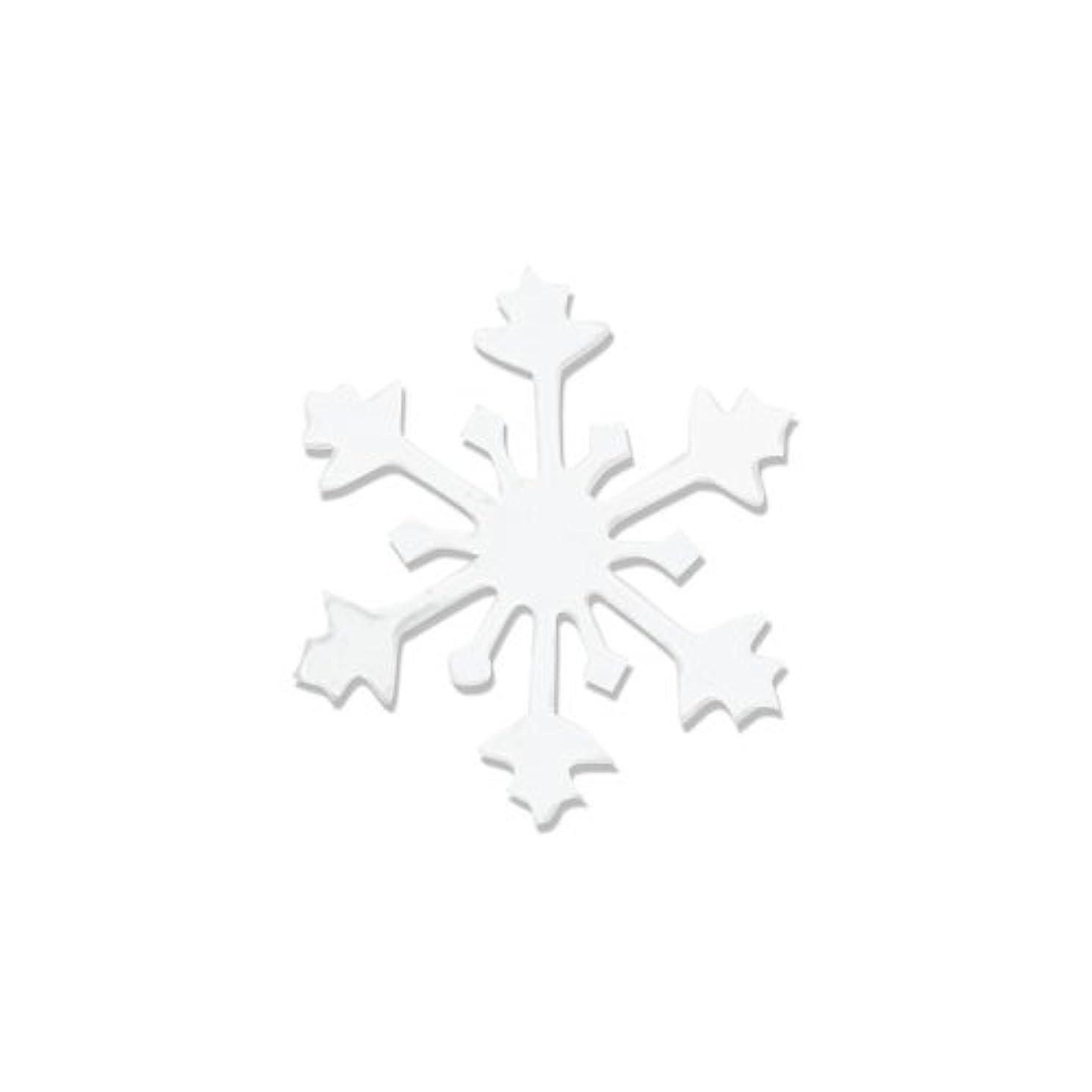 キャリッジ韓国語コジオスコリトルプリティー ネイルアートパーツ スノークリスタル SS ホワイト 15個