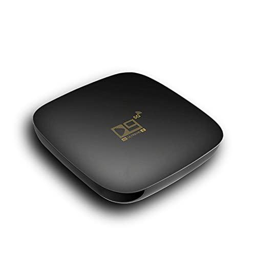 ALLWIN Android TV Box, Android TV Box Actualizado 2021 10.0 1GB RAM / 8GB ROM Compatible con Decodificador De Red WiFi De 2.4Ghz / 5.8Ghz, 4K TV Box