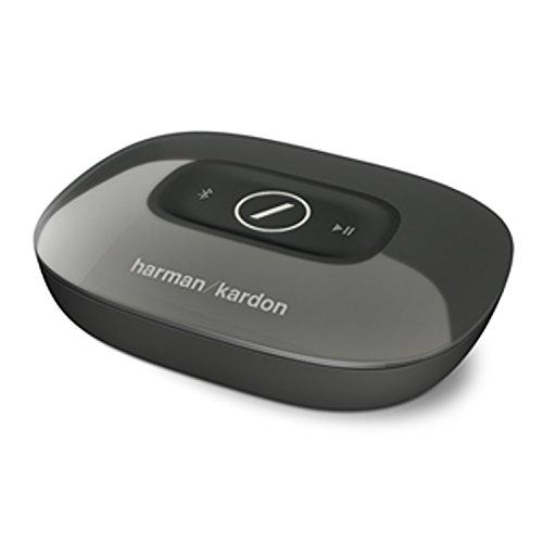 Harman/Kardon Omni Adapt Wireless Drahtloser WiFi HD-Audioadapter mit Bluetooth und Firecast Technologie für Multikanal/Multigerät Surroundsound Streaming - Schwarz