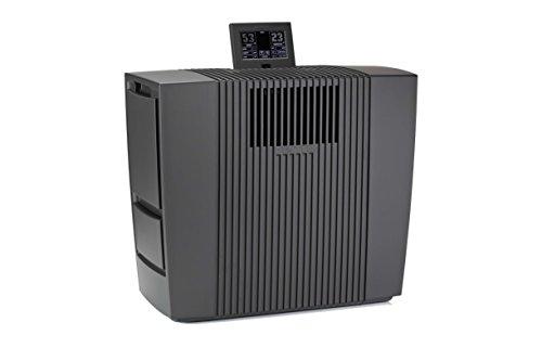 Venta Luftwäscher LW62T WiFi App Control Luftbefeuchter und Luftreiniger bis 10µm für Räume bis 250 m², seidenmatt anthrazit