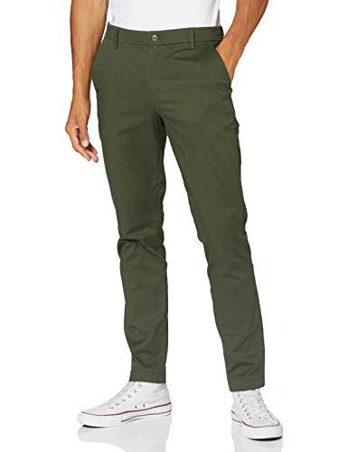 Calvin Klein Jeans Herren Ckj026 Slim Stretch Chino Pant Hose, Deep Depths, 32W / 28L