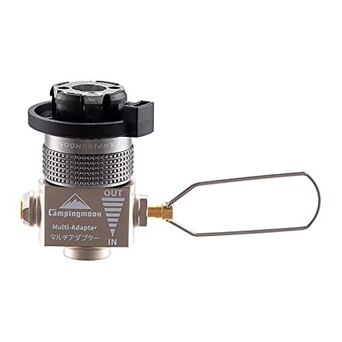 FITYLE Adaptador para Estufa de Camping con Gas Saver Plus, Adaptador para quemadores de Estufas para Exteriores, Convertidor, Válvula de conexión para