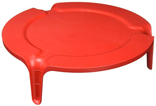 Nordic Ware 2-Tier Plate Stacker, One, Red