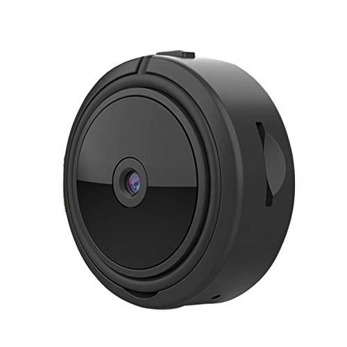 Horypt Mini cámara inalámbrica WiFi, Full HD 1080P pequeñas cámaras de seguridad de vídeo remotas portátiles, visión nocturna automática, detección de movimiento para el hogar/interior/exterior
