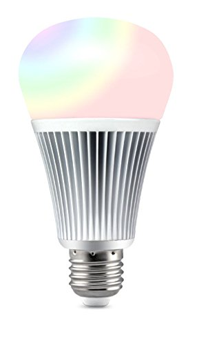LIGHTEU®, 9W E27 Milight Miboxer sans fil E27 9W 2.4G RF télécommande RGBCCT LED ampoules (télécommande non incluse), 850LM, fut012