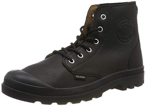 Palladium Pampa Hi LTH UL, Stiefel & Stiefel, weich, Unisex, Erwachsene, Schwarz - Black Black Black 466 - Größe: 43 EU