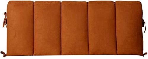 OYY Manufacture Cojines Almohada de Cama Lectura Cabecera Acolchada Tapicero Sofá Cama Day Bed Tapa Lavable removible de Remolino Lumbar, 11 tamaños (Color : A, Size : 190x60cm)
