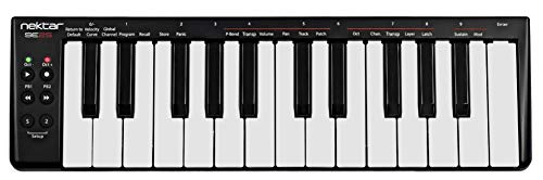 Nektar SE25 Mini-Keys USB MIDI Controller Keyboard with Nektar DAW Integration