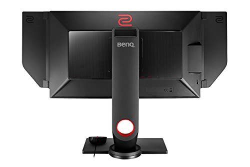BenQ ZOWIE XL2546 - Monitor Gaming de 24.5' FullHD (1920x1080, 1ms, 240Hz, HDMI, Tecnología DyAc, Black eQualizer, Color Vibrance, S Switch, Viseras, DP, DVI-DL, Altura Ajustable) - Gris