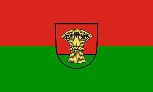 Unbekannt magFlags Tisch-Fahne/Tisch-Flagge: Gondelsheim 15x25cm inkl. Tisch-Ständer