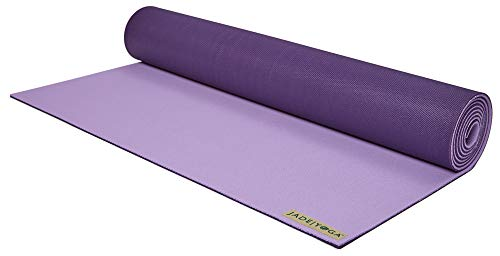 LIMITED EDITION Two-Toned Harmony 71-Inch x 3/16-Inch Yoga Mat (Lavender/Purple )
