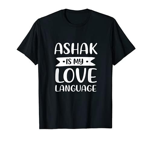 Ashak is My Love Language Albóndigas vegetales afganos Camiseta