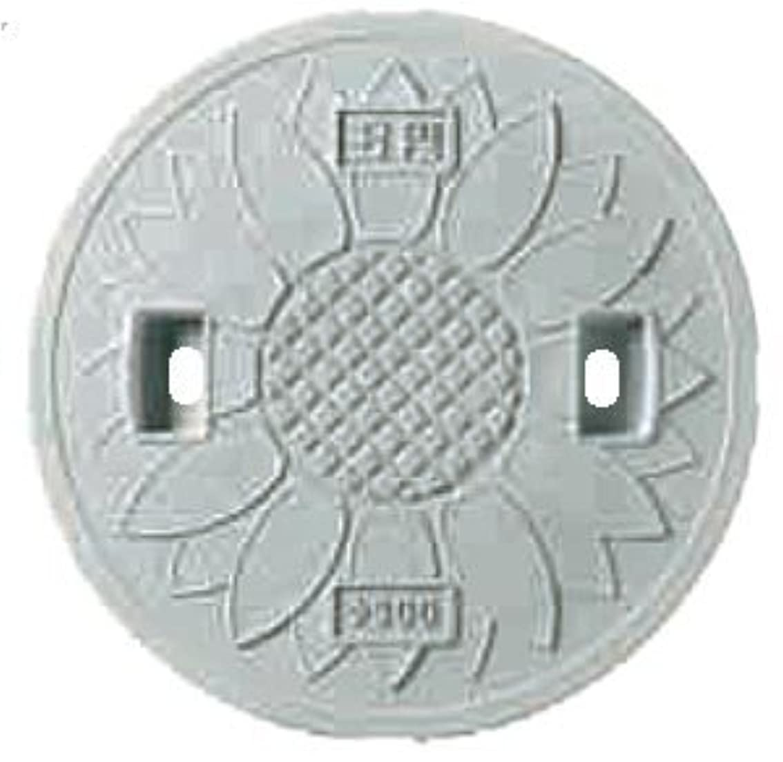 タックル側反逆者丸マス蓋(枠なし) 樹脂製 耐圧2トン 300型 JT2-300SFW(雨水?穴あり) 城東テクノ