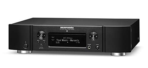 Marantz NA6006 Network Audio Player | Audiophile Designed D/A Conversion, HDAM, Digital Filtering | With WiFi, Airplay 2, Bluetooth and HEOS | Amazon Alexa Compatibility