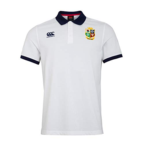 Canterbury British and Irish Lions Home Nations Camisa de Polo Hombre