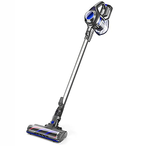 MOOSOO Cordless Vacuum 4 in 1 Powerful Suction...