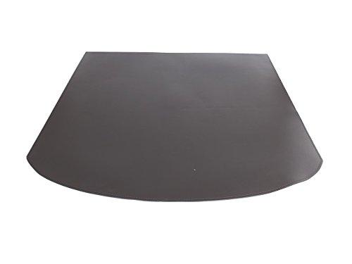 Gavemo TATO10EC0012 Tasto: tapijt gerealileerd met ecologisch leer antraciet, bescherming voor oven en open haard, Made in Italy door Firestyle